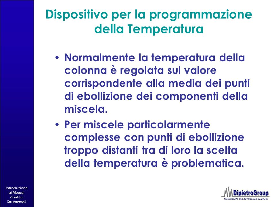 Dispositivo per la programmazione della Temperatura