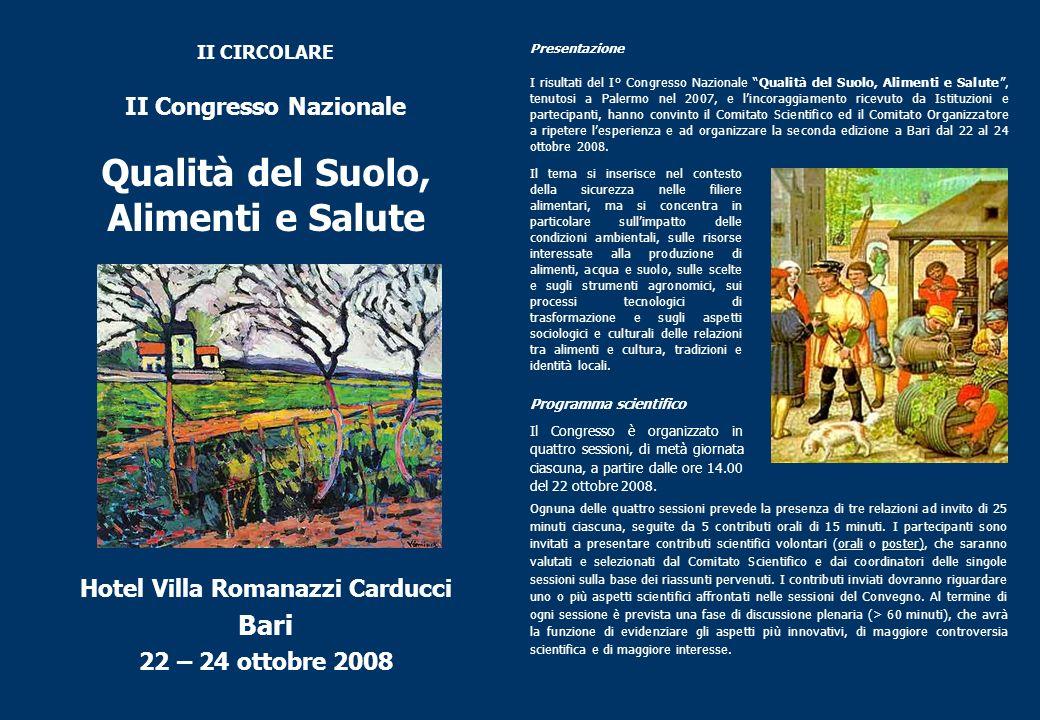 II Congresso Nazionale Hotel Villa Romanazzi Carducci