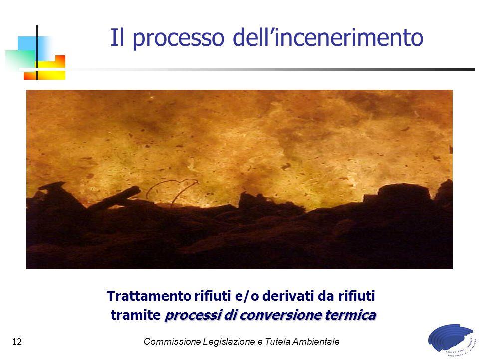 Il processo dell'incenerimento