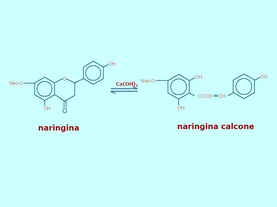 Ca(OH)2 naringina naringina calcone