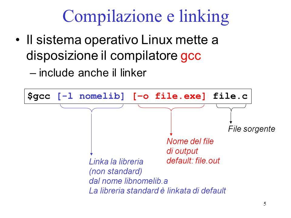 Compilazione e linking