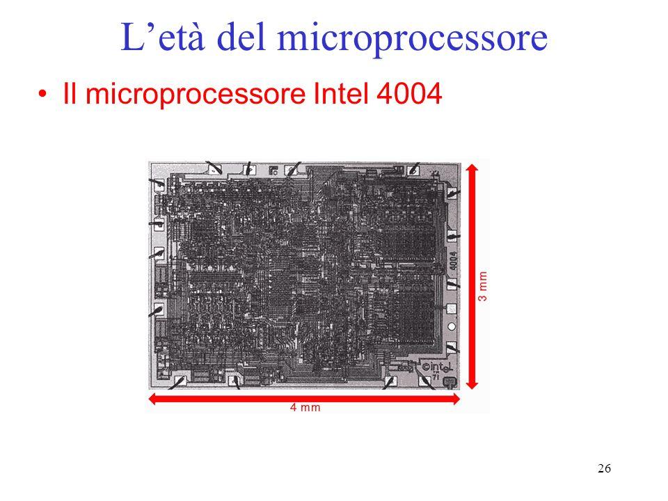 L'età del microprocessore