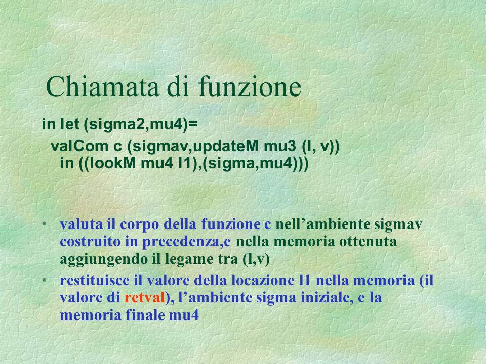 Chiamata di funzione in let (sigma2,mu4)=