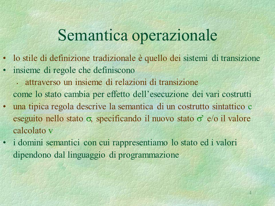 Semantica operazionale