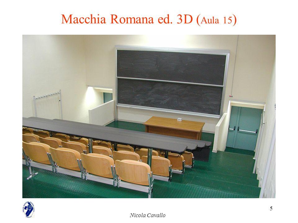 Macchia Romana ed. 3D (Aula 15)