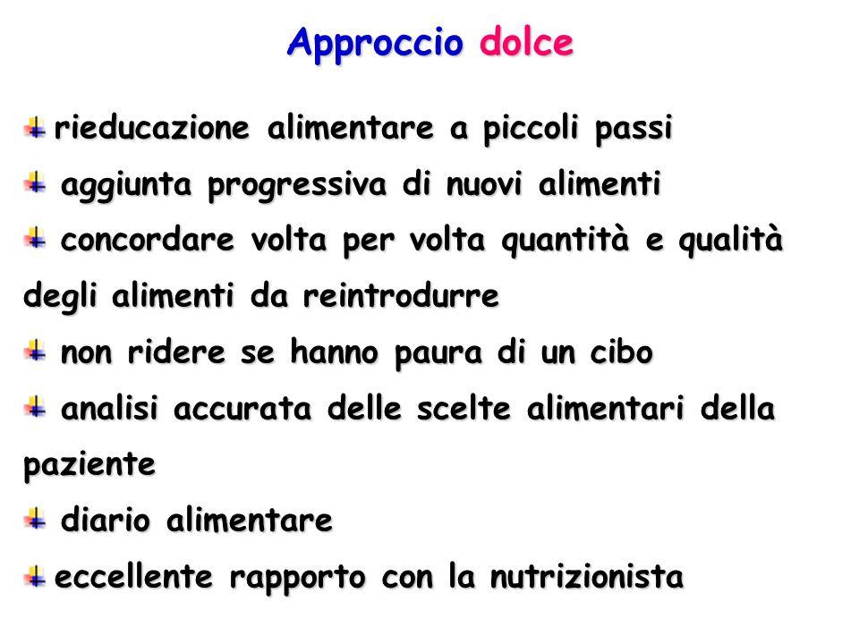 Approccio dolce rieducazione alimentare a piccoli passi