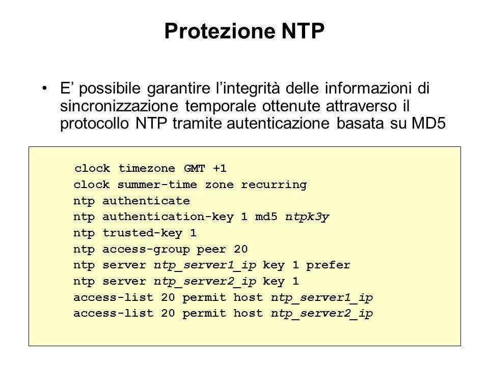 Protezione NTP