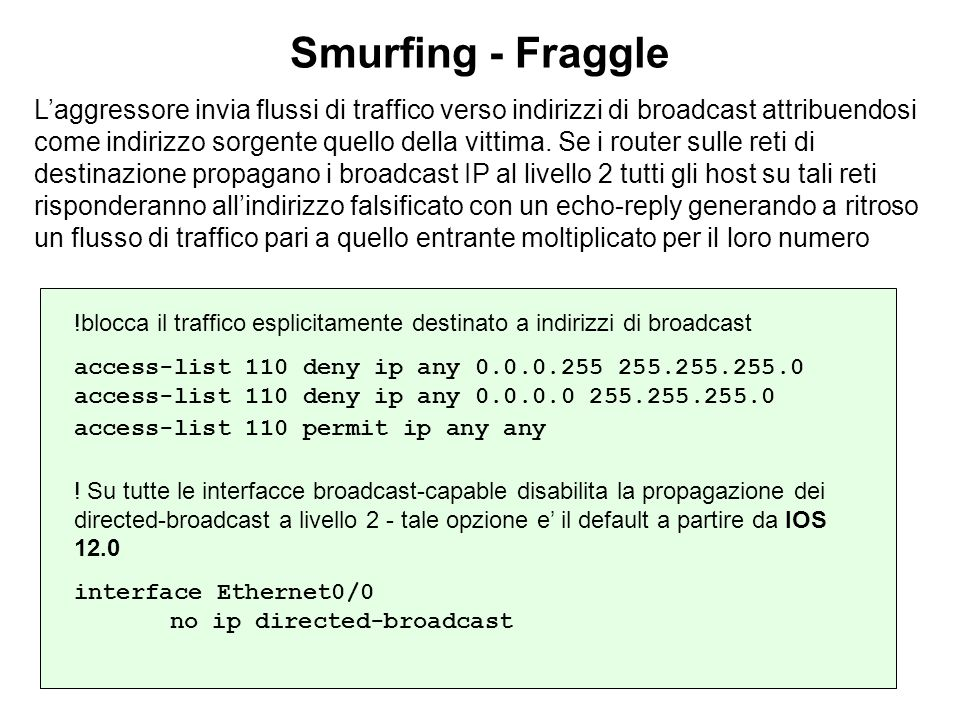 Smurfing - Fraggle