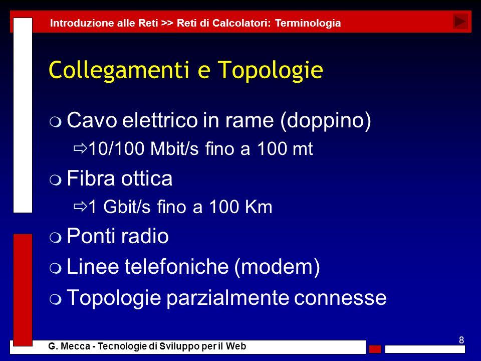 Collegamenti e Topologie