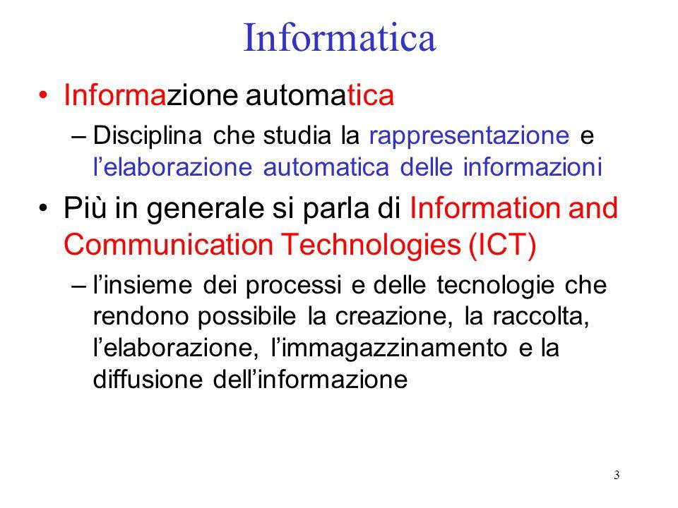 Informatica Informazione automatica