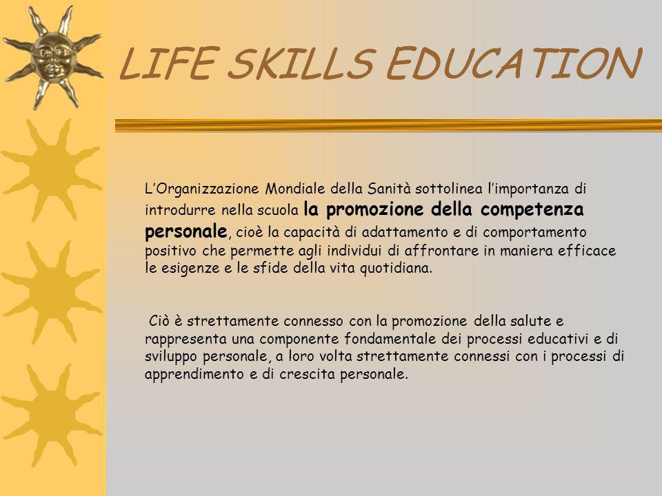 LIFE SKILLS EDUCATION