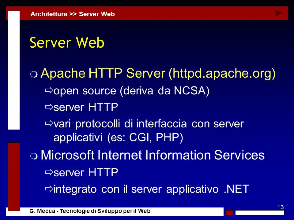 Server Web Apache HTTP Server (httpd.apache.org)