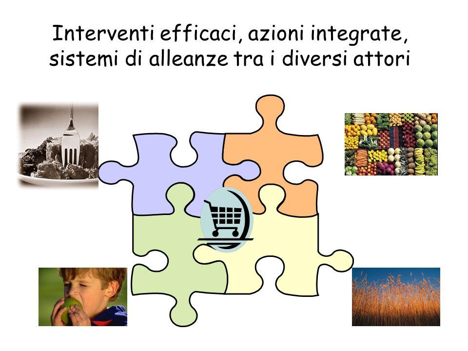 Interventi efficaci, azioni integrate, sistemi di alleanze tra i diversi attori