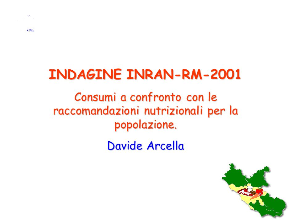 Istituto Nazionale di Ricerca per gli Alimenti e la Nutrizione