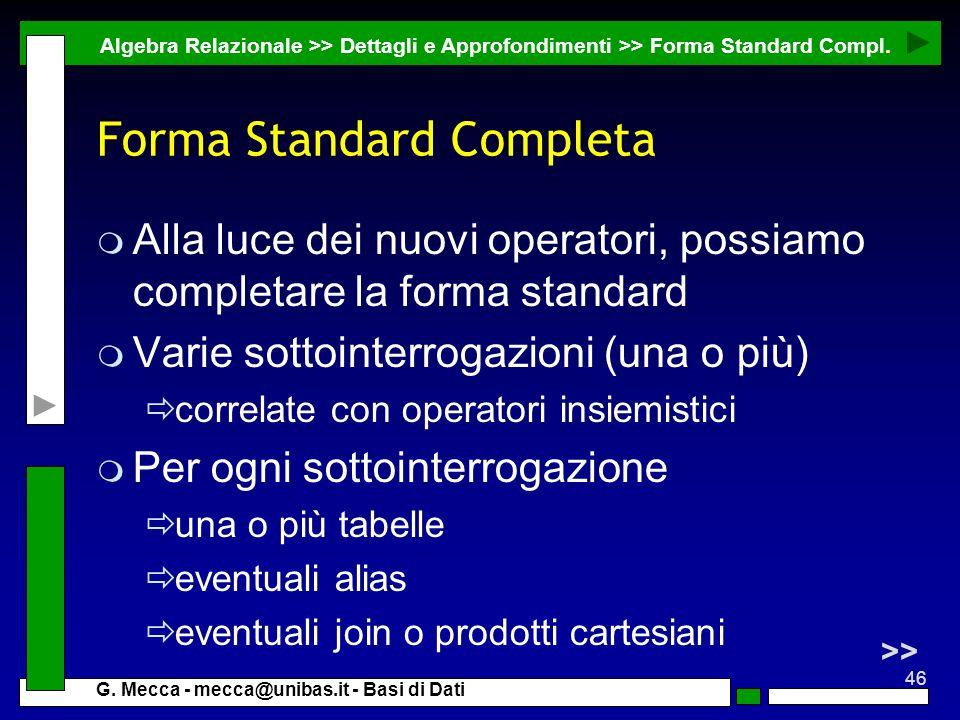 Forma Standard Completa