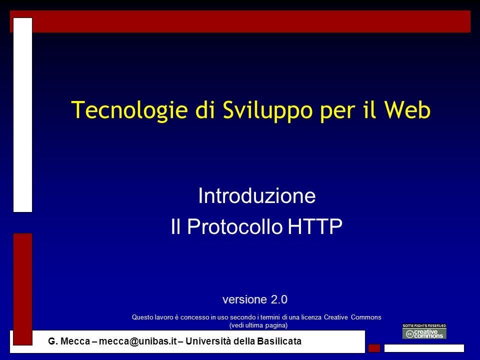 Tecnologie di Sviluppo per il Web
