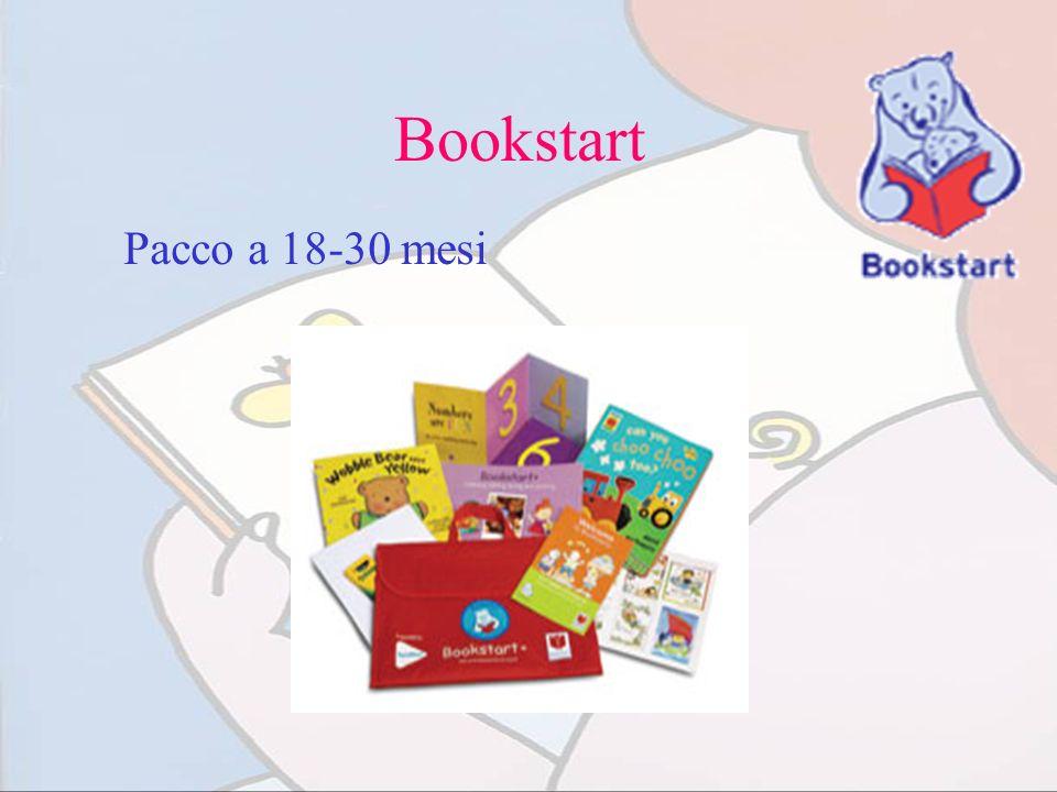 Bookstart Pacco a 18-30 mesi