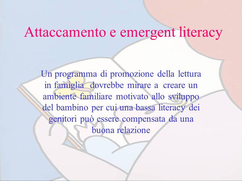 Attaccamento e emergent literacy