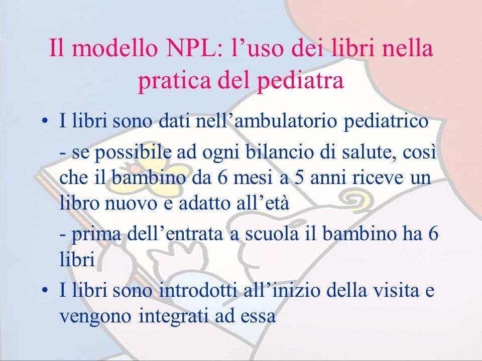 Il modello NPL: l'uso dei libri nella pratica del pediatra