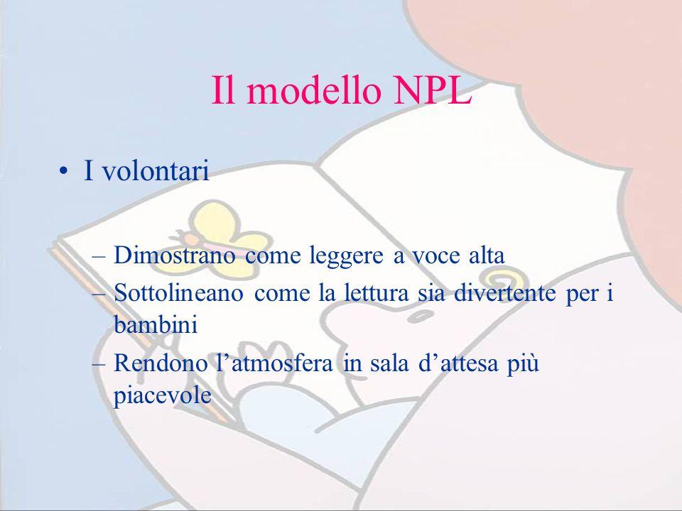 Il modello NPL I volontari Dimostrano come leggere a voce alta
