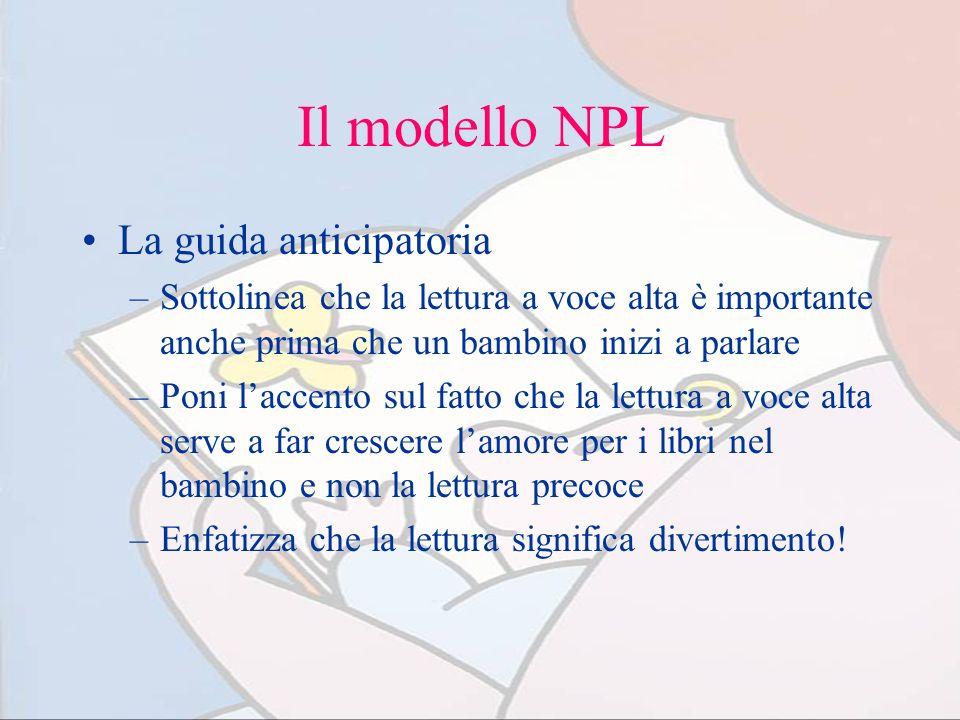 Il modello NPL La guida anticipatoria