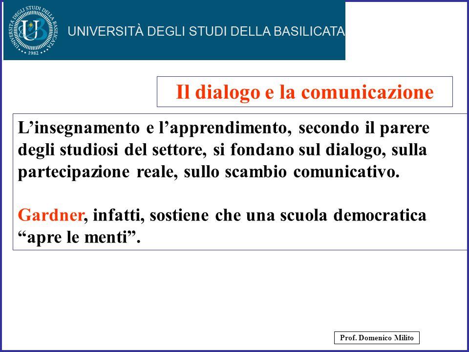 Il dialogo e la comunicazione