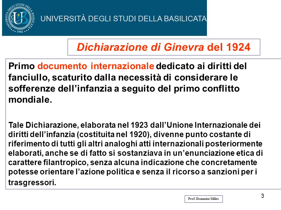 Dichiarazione di Ginevra del 1924