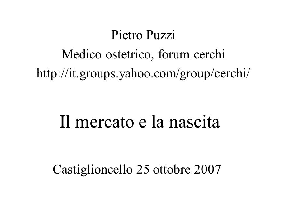 Castiglioncello 25 ottobre 2007