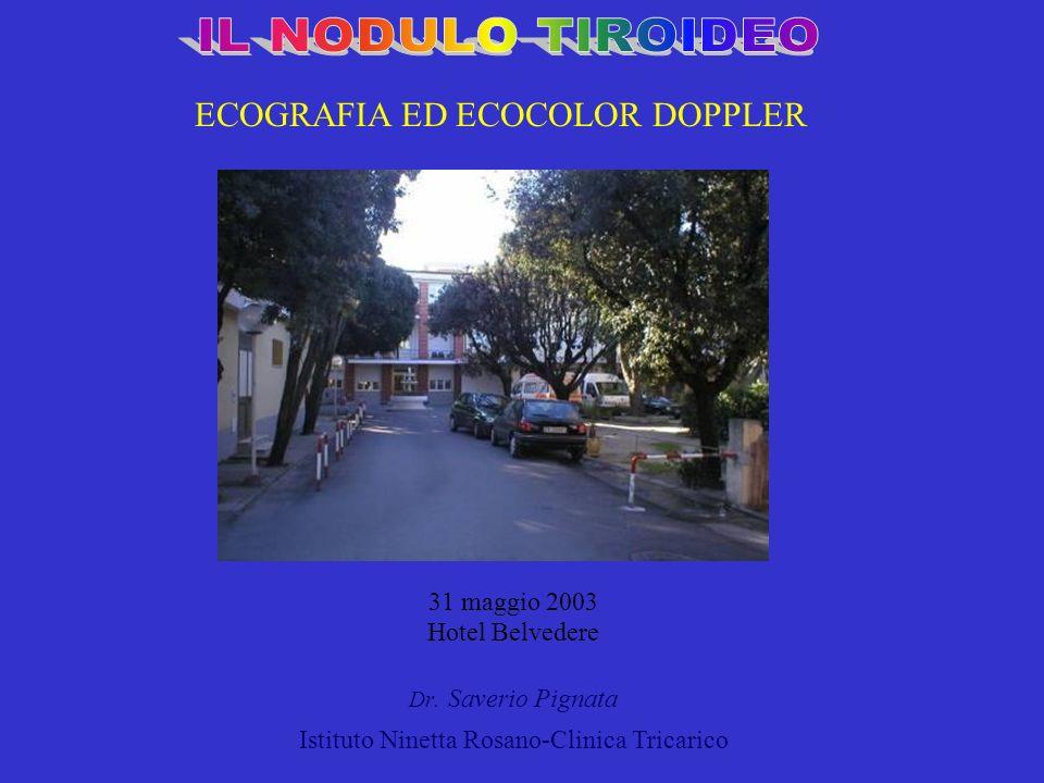 ECOGRAFIA ED ECOCOLOR DOPPLER