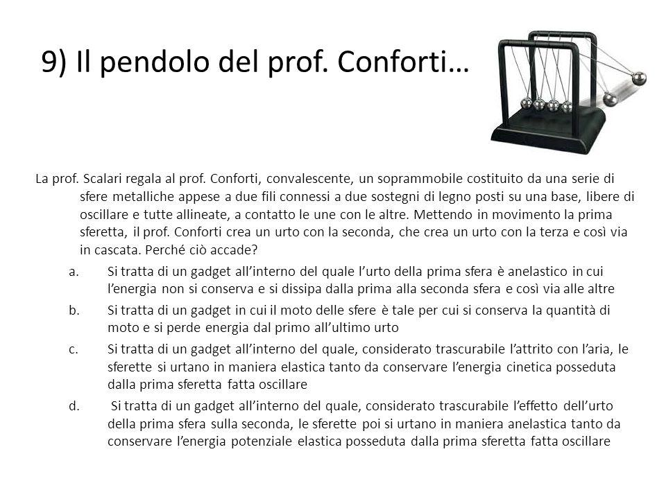 9) Il pendolo del prof. Conforti…