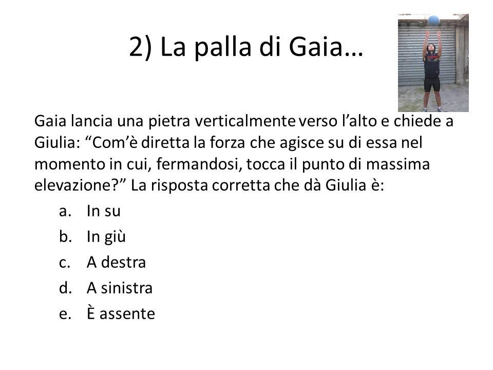 2) La palla di Gaia…