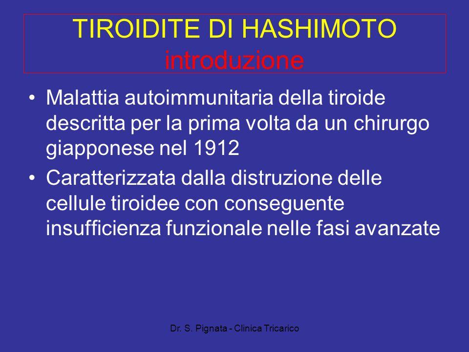 TIROIDITE DI HASHIMOTO introduzione