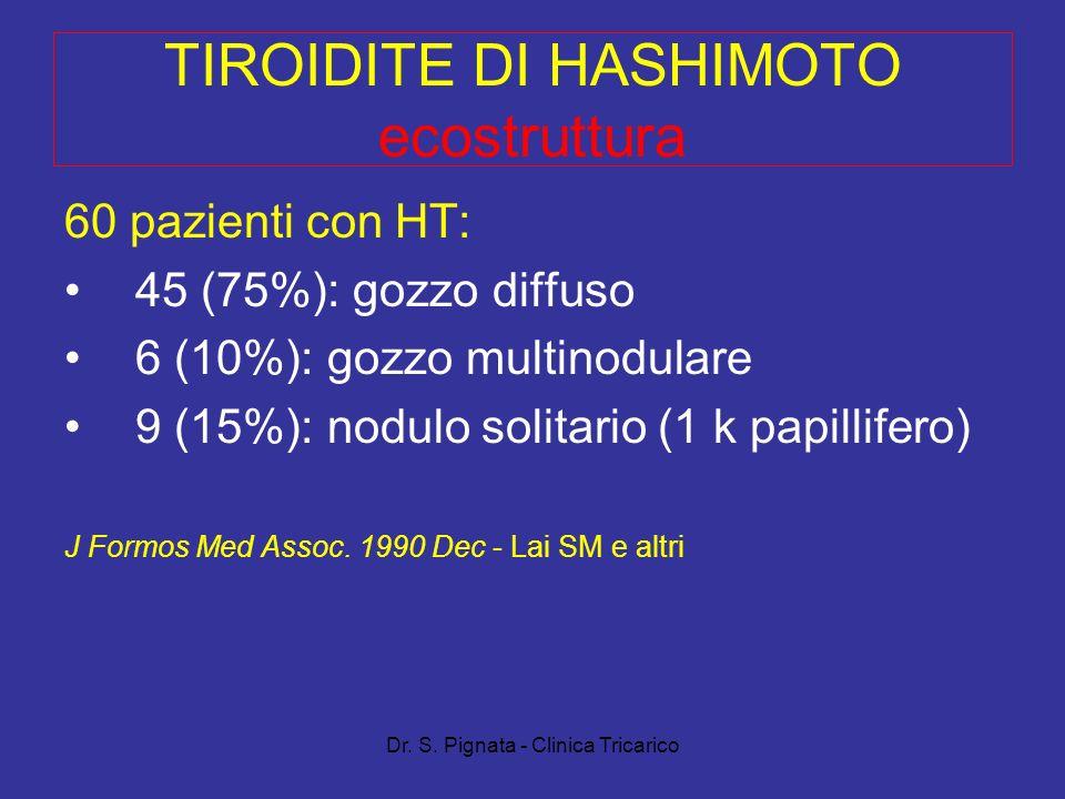 TIROIDITE DI HASHIMOTO ecostruttura
