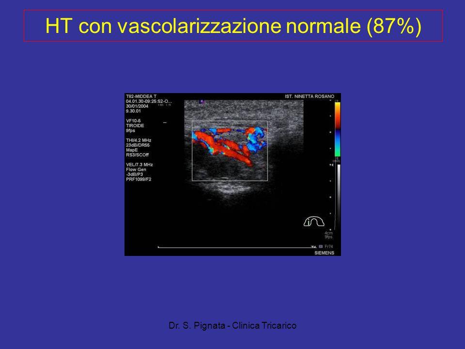 HT con vascolarizzazione normale (87%)