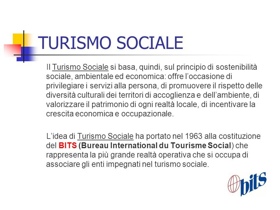 TURISMO SOCIALE
