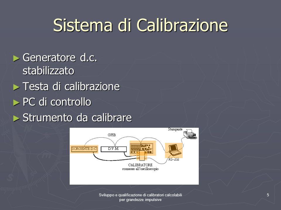 Sistema di Calibrazione