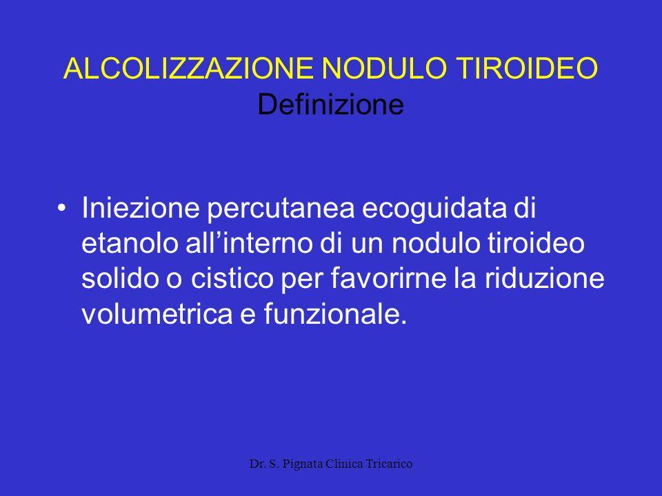 ALCOLIZZAZIONE NODULO TIROIDEO Definizione