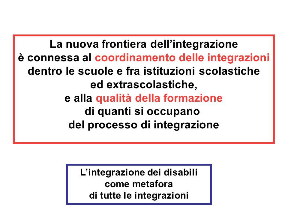 La nuova frontiera dell'integrazione