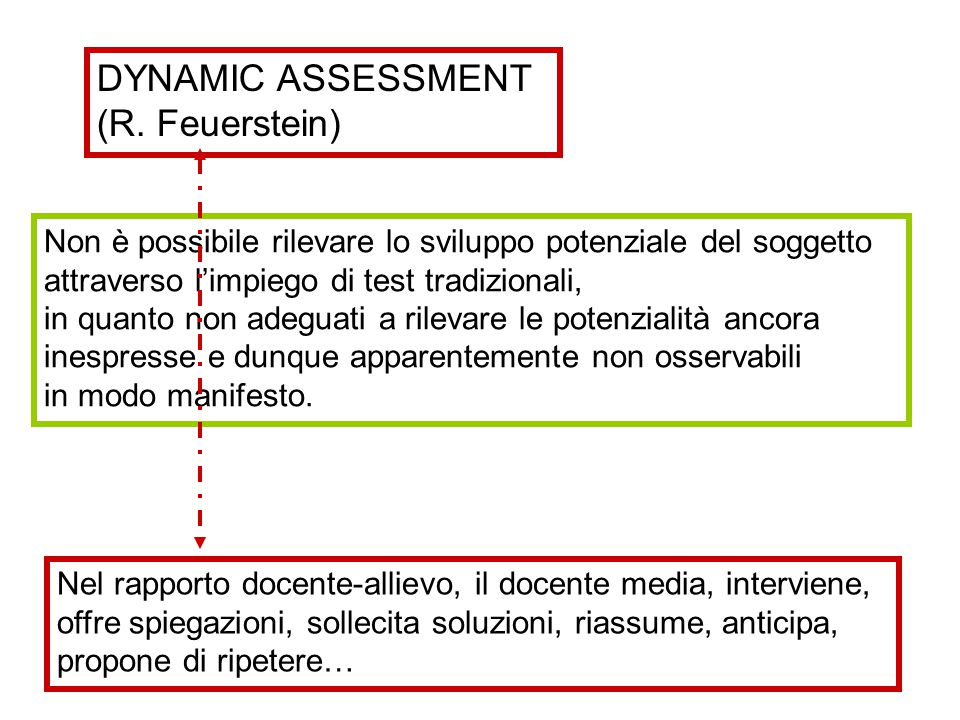 DYNAMIC ASSESSMENT (R. Feuerstein)