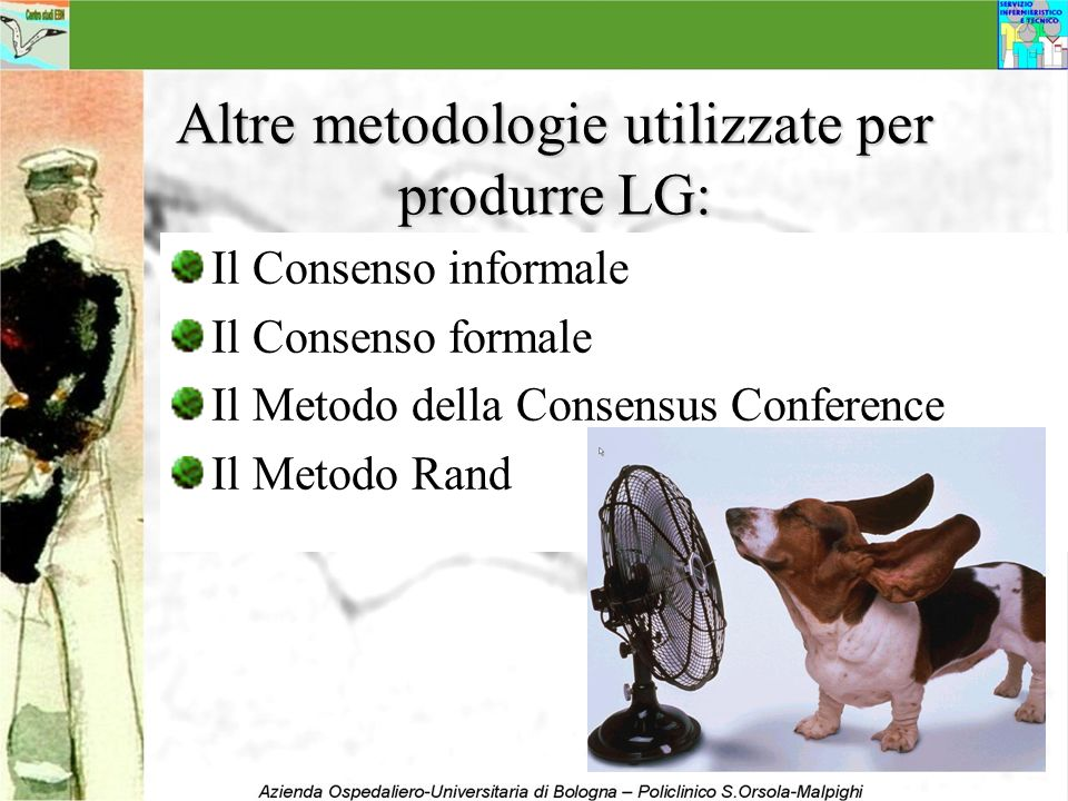 Altre metodologie utilizzate per produrre LG:
