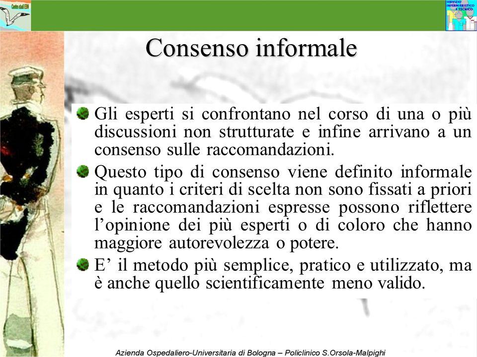 Consenso informale