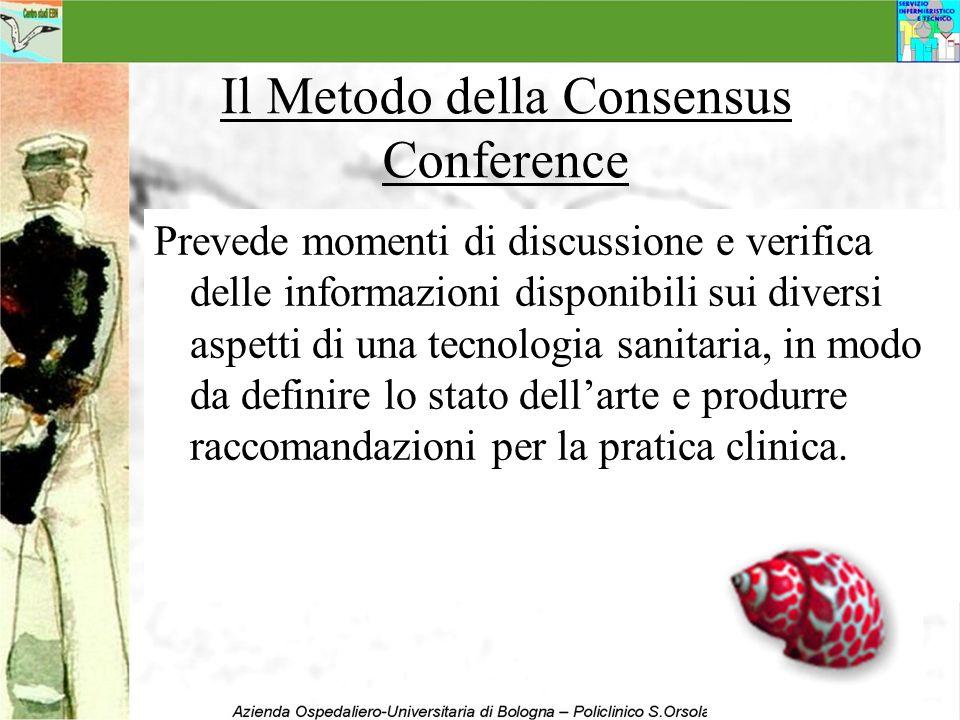 Il Metodo della Consensus Conference