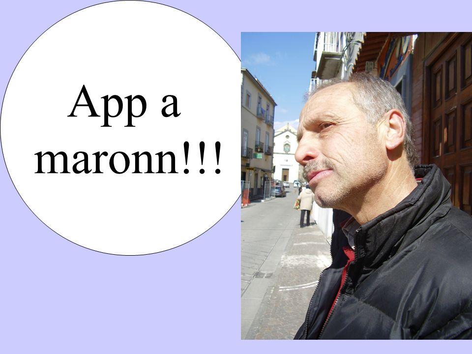 App a maronn!!!