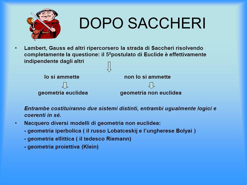 DOPO SACCHERI