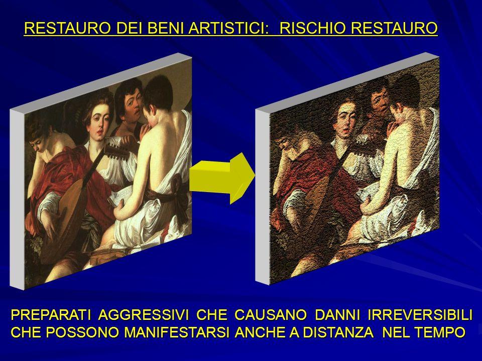 RESTAURO DEI BENI ARTISTICI: RISCHIO RESTAURO