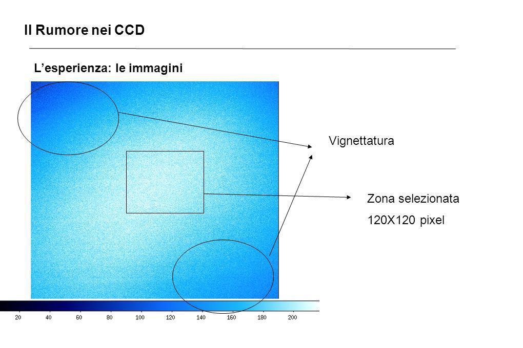 Il Rumore nei CCD L'esperienza: le immagini Vignettatura
