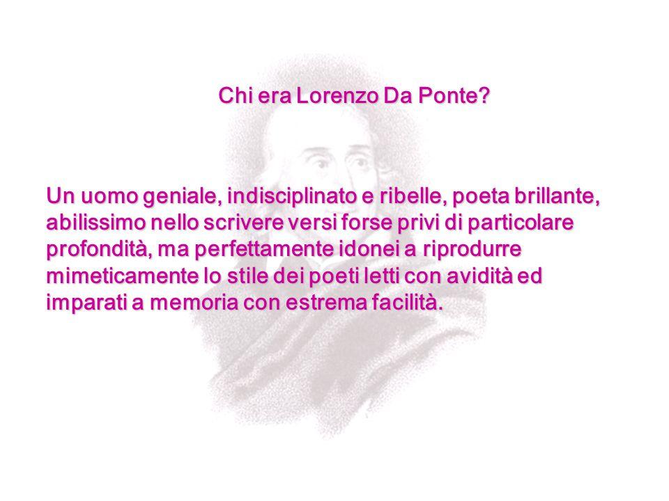 Chi era Lorenzo Da Ponte