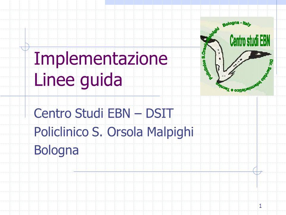 Implementazione Linee guida