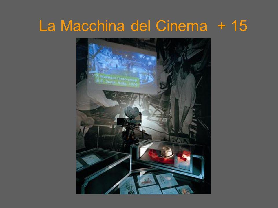 La Macchina del Cinema + 15