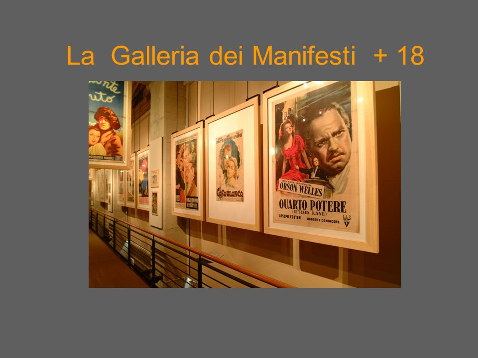 La Galleria dei Manifesti + 18